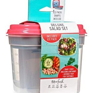 Fit & Fresh 410FF Deluxe Salad Set